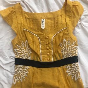 Anthropologie Top Size 4